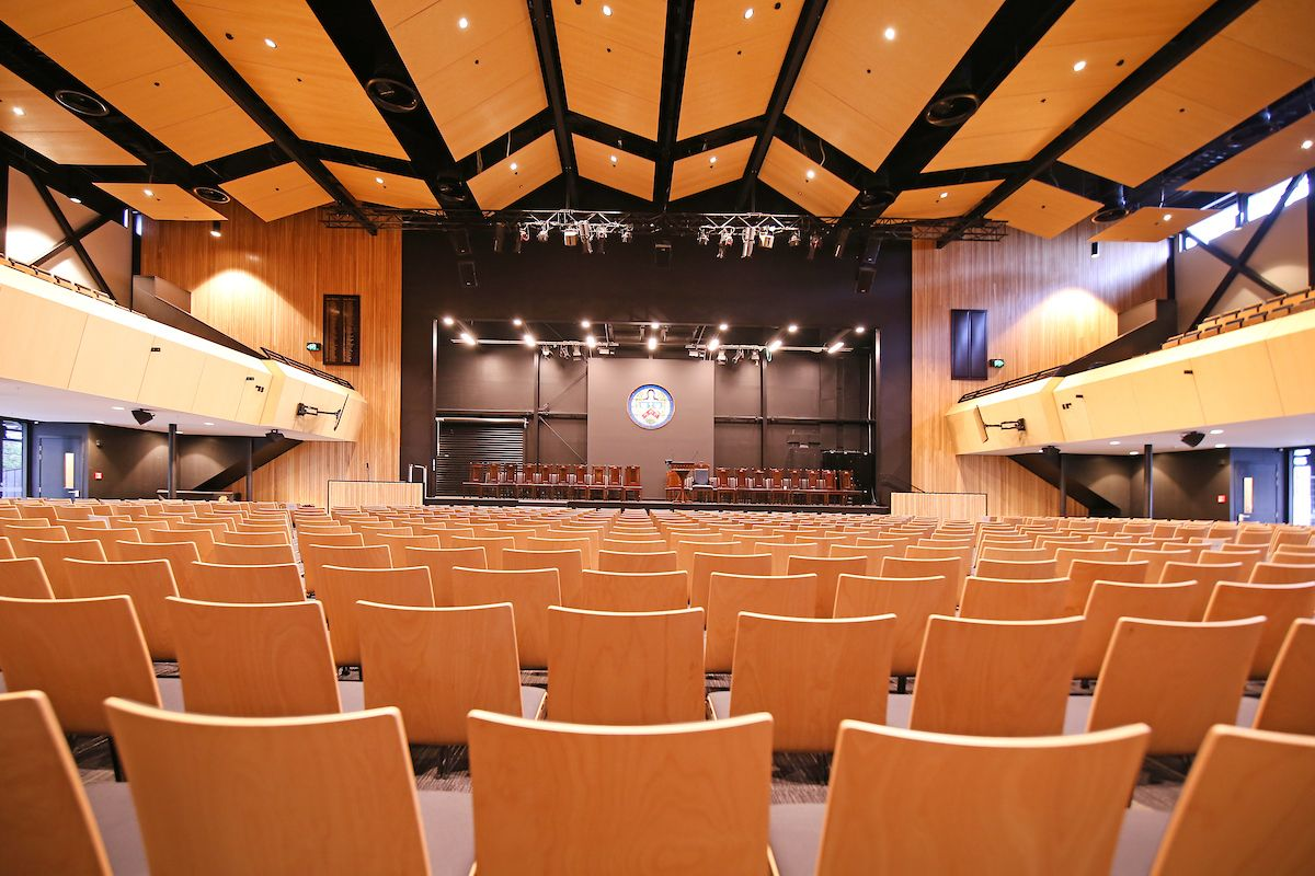 Christchurch Boy's High School Auditorium