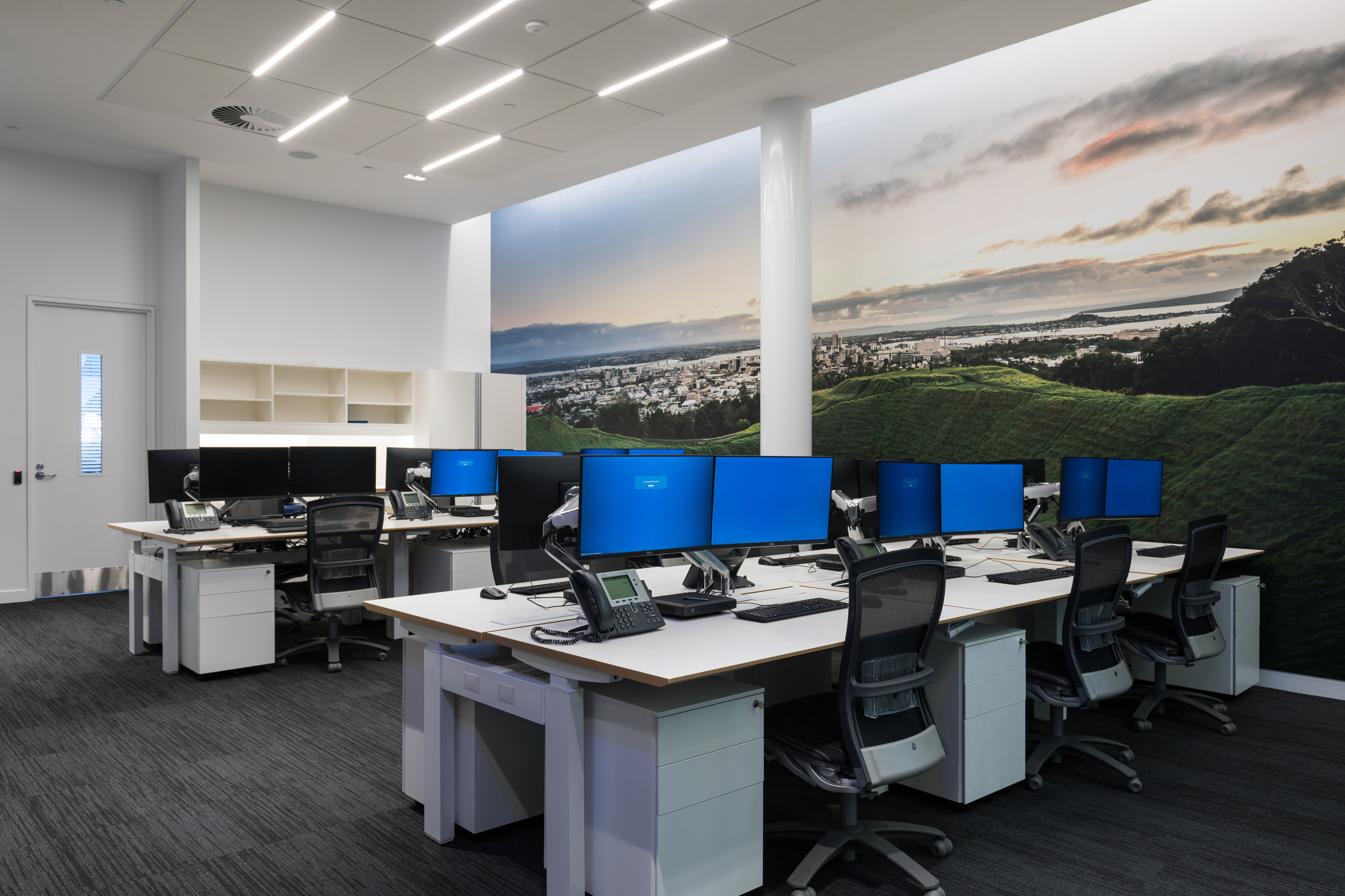 ANZ Customer Service Office CMax Absorb and GridLux Ceiling