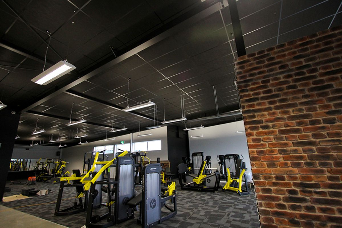 Black C Max Gym Ceiling