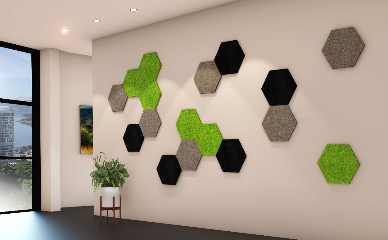 Hexagon Cut Panel