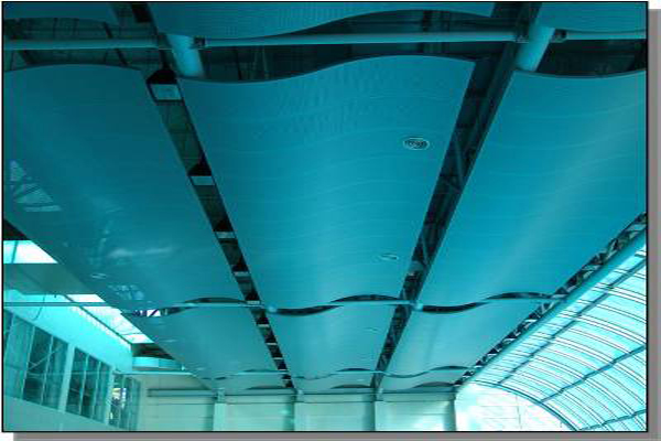T Amp R Interior Systems Metacoustic Metal Ceiling
