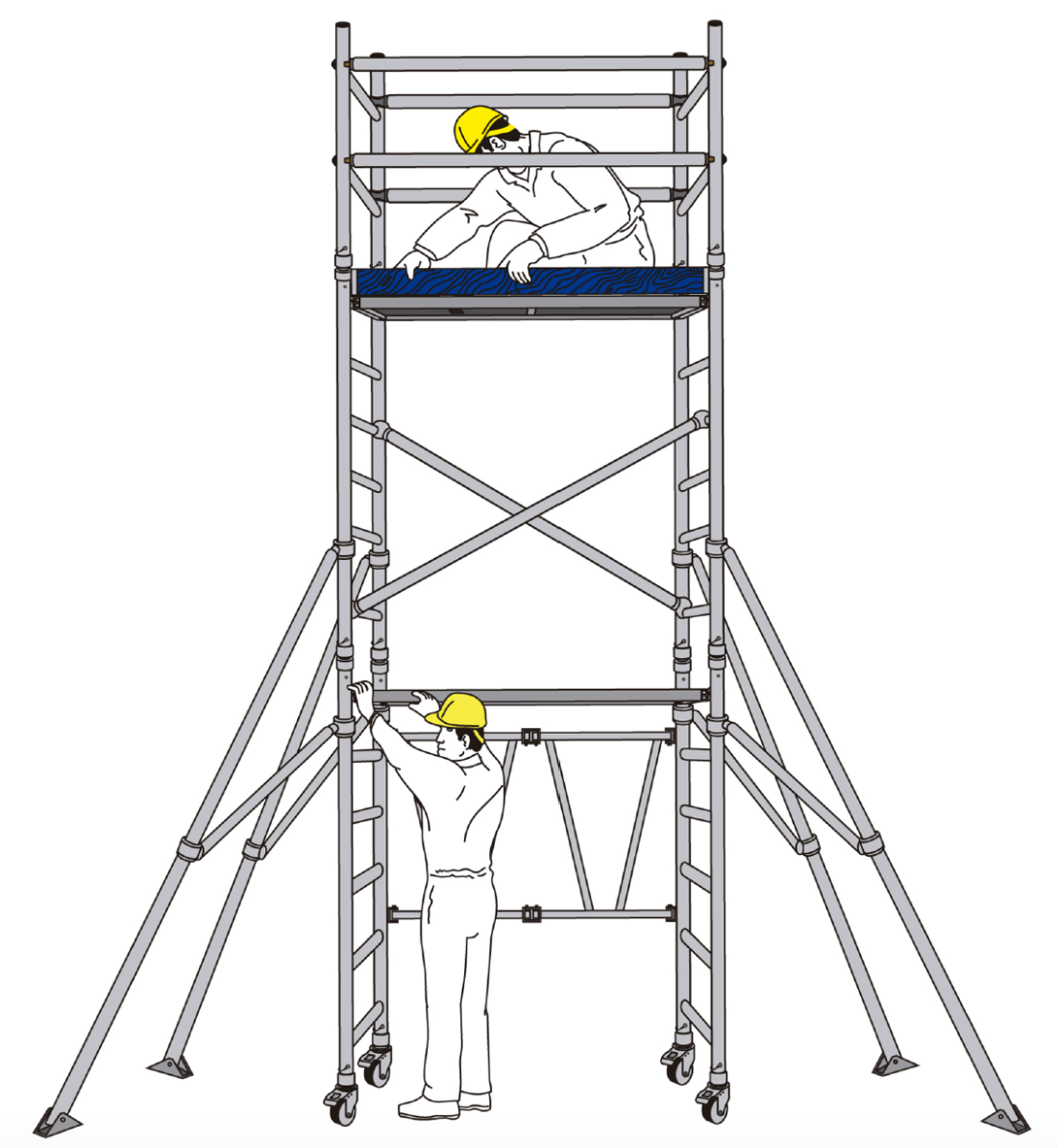 TR Interior Systems Access Scaffolding