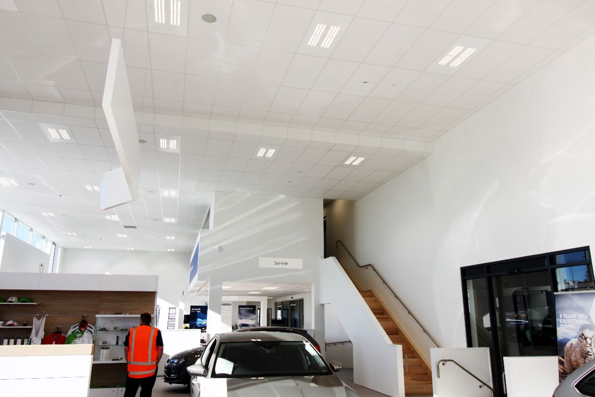 Eurocity Interior - with C Max Absorb ceilings