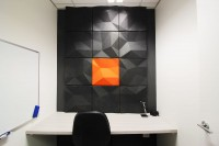 FOCUS 3D Wall Panel Installed